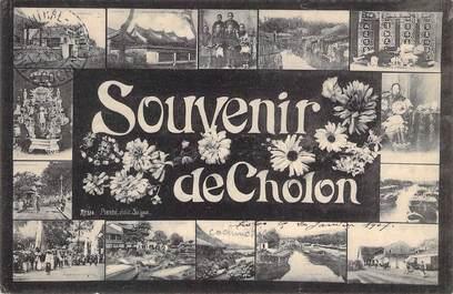 """CPA VIETNAM INDOCHINE """"Souvenir de Cholon"""""""