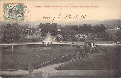 """CPA VIETNAM INDOCHINE """"Tonkin, Sontay, la citadelle et les collines de Tong"""""""