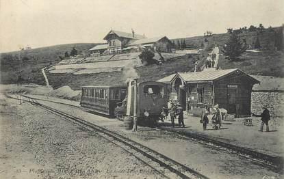 "/ CPA FRANCE 73 ""Gare de Mont Revard"" / TRAIN"