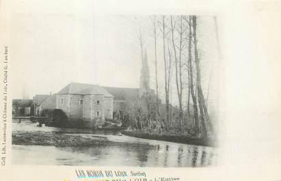 """/ CPA FRANCE 72 """"Nogent sur Loir, l'église"""""""