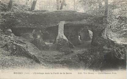 """/ CPA FRANCE 39 """"Moissey, l'ermitage dans la forêt de la serre"""""""
