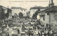 "38 Isere / CPA FRANCE 38 ""Beaurepaire, place Ferdinand de Barrin"""