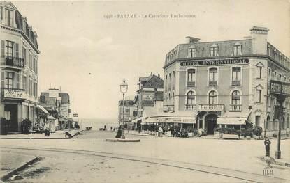 """/ CPA FRANCE 35 """"Paramé, le carrefour Rochebonne"""""""