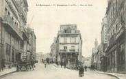 """35 Ille Et Vilaine / CPA FRANCE 35 """"Fougères, rue de Paris"""""""