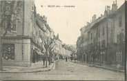 "01 Ain / CPA FRANCE 01 ""Belley, Grande rue"""