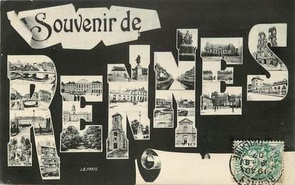 """CPA FRANCE 35 """"Souvenir de Rennes"""""""