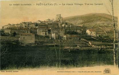 """/ CPA FRANCE 26 """"Poët Laval, le vieux village"""""""