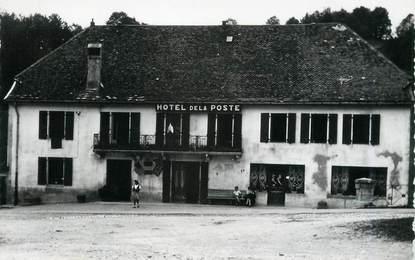 """/ CPSM FRANCE 25 """"Jougne, hôtel de la poste"""""""