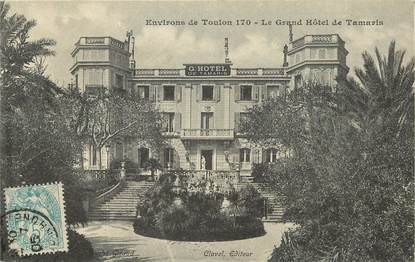 "CPA FRANCE 83 ""Tamaris, le grand Hotel"""