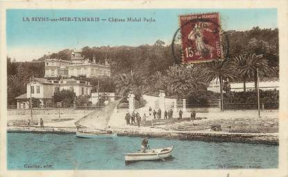 """CPA FRANCE 83 """"Tamaris, chateau Michel Pacha"""""""
