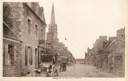 "/ CPA FRANCE 22 ""Begard, rue de la mairie """