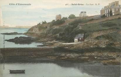 """/ CPA FRANCE 35 """"Saint Briac, le port"""""""