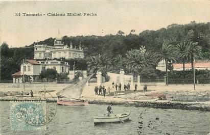 """CPA FRANCE 83 """"Tamaris, Château Michel Pacha"""""""