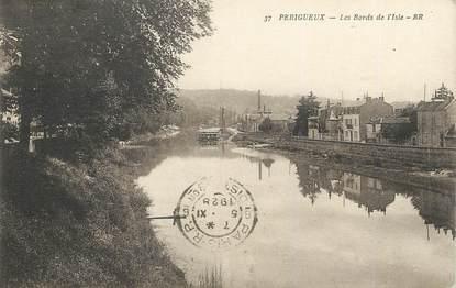 """/ CPA FRANCE 24 """"Périgueux, les bords de l'isle"""""""