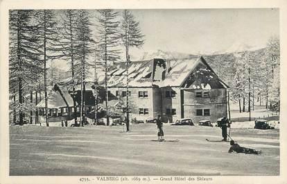 """/ CPA FRANCE 06 """"Valberg, grand hôtel des skieurs"""""""