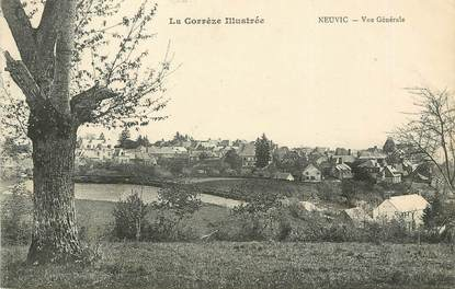 """/ CPA FRANCE 19 """"Neuvic, vue générale"""""""