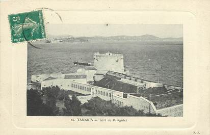 "CPA FRANCE 83 ""Tamaris, Fort de Balaguier"""