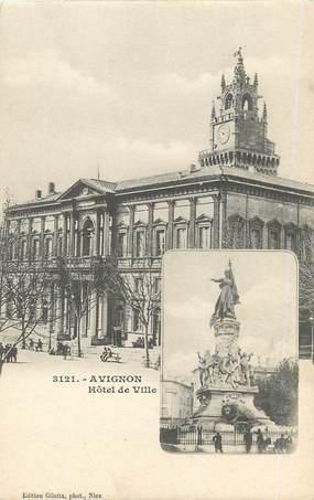 """/ CPA FRANCE 84 """"Avignon, hôtel de ville"""""""