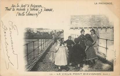 """/ CPA FRANCE 84 """"Avignon, le vieux pont"""""""