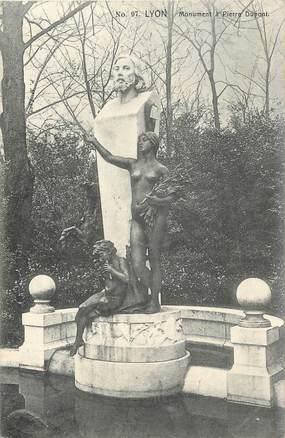 "/ CPA FRANCE 69 ""Lyon"" / MONUMENT"