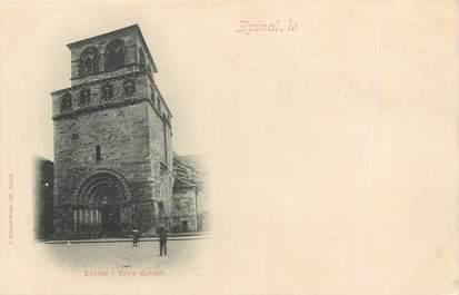 """/ CPA FRANCE 88 """"Epinal, église, tour carrée"""""""