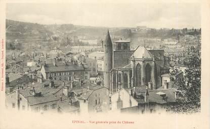 """/ CPA FRANCE 88 """"Epinal, vue générale prise du château """""""