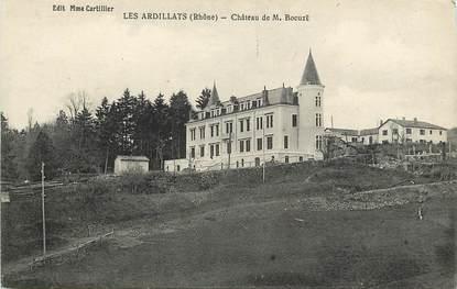 """CPA FRANCE 69 """"Les Ardillats, Château de M. Bocuzt"""""""