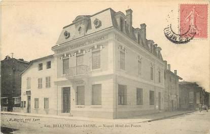 """CPA FRANCE 69 """"Belleville sur Saône, nouvel hôtel des postes"""""""