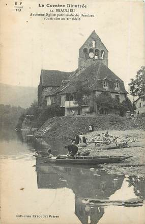 """/ CPA FRANCE 19 """"Beaulieu, ancienne église paroissiale"""""""