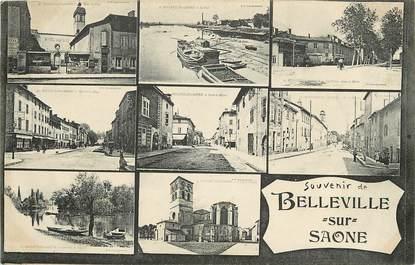 """CPA FRANCE 69 """"Belleville sur Saône"""""""