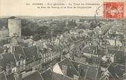 """27 Eure / CPA FRANCE 27 """"Gisors, vue générale, la tour du prisonnier"""""""