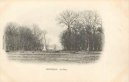 """/ CPA FRANCE 91 """"Dourdan, le parc"""""""