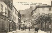 """69 RhÔne CPA FRANCE 69 """"Beaujeu, Place de la Liberté"""""""