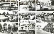 """40 Lande / CPSM FRANCE 40 """"Mont de Marsan, les arènes, le vieux moulin, la Midouze"""""""
