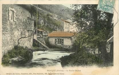 "CPA FRANCE 69 ""Beaujeu, la Roche Gachot"""