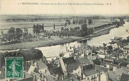 "/ CPA FRANCE 41 ""Montrichard, panorama"""