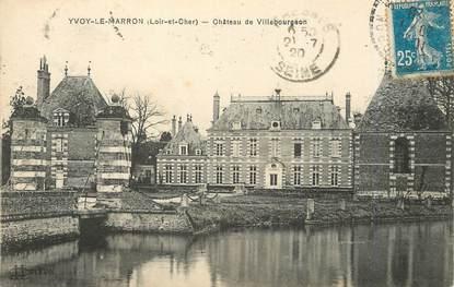"""/ CPA FRANCE 41 """"Yvoy Le Marron, château de Villebourgeon"""""""