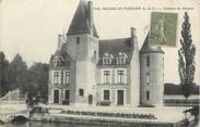 """41 Loir Et Cher / CPA FRANCE 41 """"Nouan le Fuzelier, château de Moléon"""""""