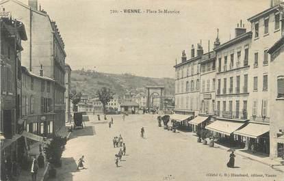 "/ CPA FRANCE 38 "" Vienne, place Saint Maurice"""