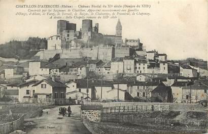 "CPA FRANCE 69 ""Chatillon d'Azergues"""