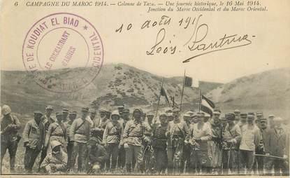"""CPA MAROC """"Colonne de Taza, 1914"""""""