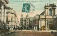 """21 Cote D'or CPA FRANCE 21 """"Dijon, Eglise Saint Michel et bourse du Commerce"""""""