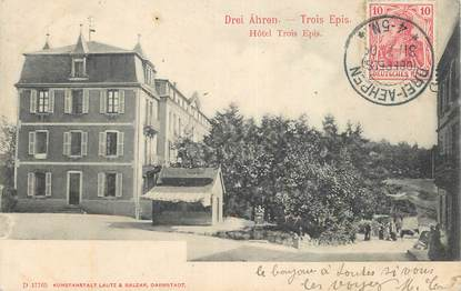 """CPA FRANCE 68 """"Trois Epis, Hotel"""""""
