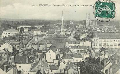 """CPA FRANCE 10 """"Troyes, Panorama Est"""""""