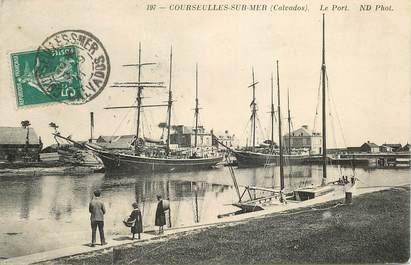 """CPA FRANCE 14 """"Courseulles sur mer, le Port"""""""