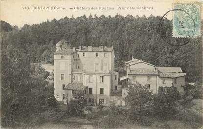 """CPA FRANCE 69 """"Ecully, Château des Rivières"""""""