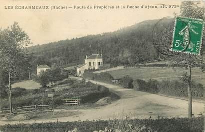 """CPA FRANCE 69 """"Les Echarmeaux, rte de Propières"""""""