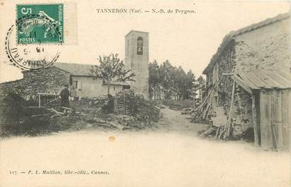 "CPA FRANCE 83 ""Tanneron, ND de Peygros"""