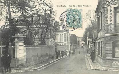 """CPA FRANCE 27 """"Bernay, rue de la Sous Préfecture"""""""