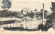 "03 Allier CPA FRANCE 03 ""Bourbon l'Archambault, Moulin et Chateau"